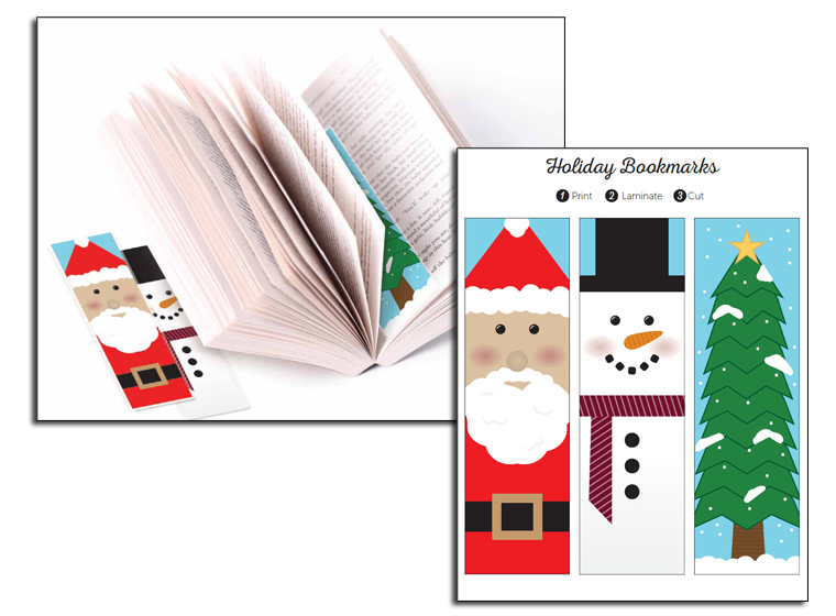 Christmas Book Marks