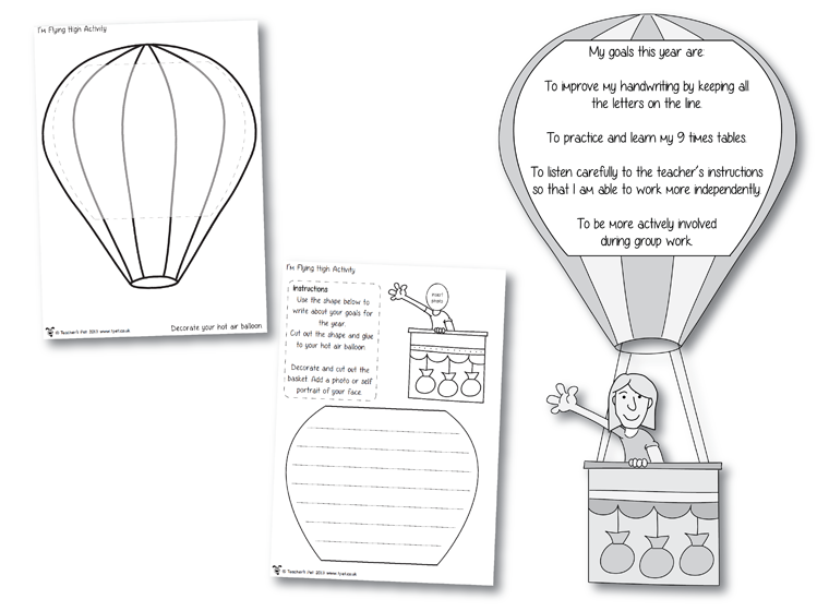 Fellowes Idea Centre - Ideas For School - Activities - I'm Flying ...