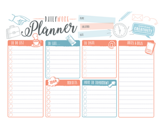 Daily Work Planner
