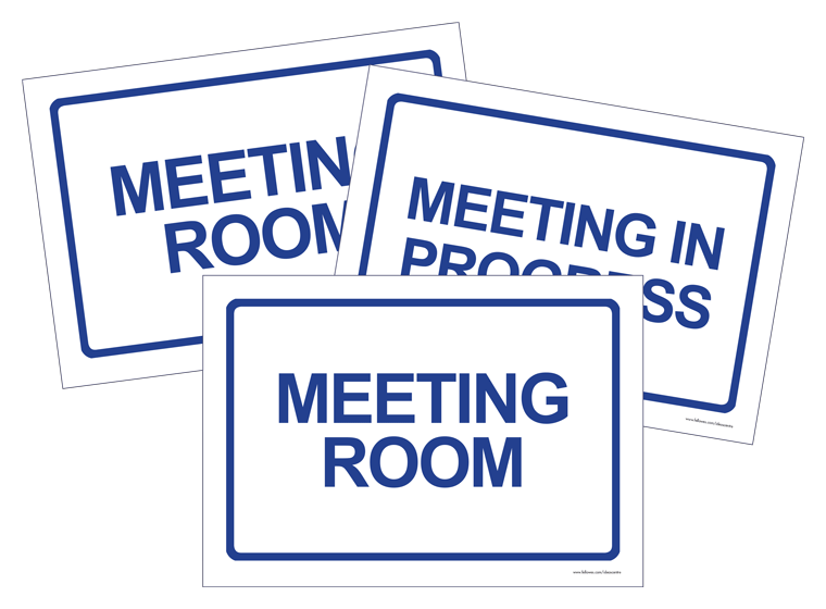 Meeting Signs