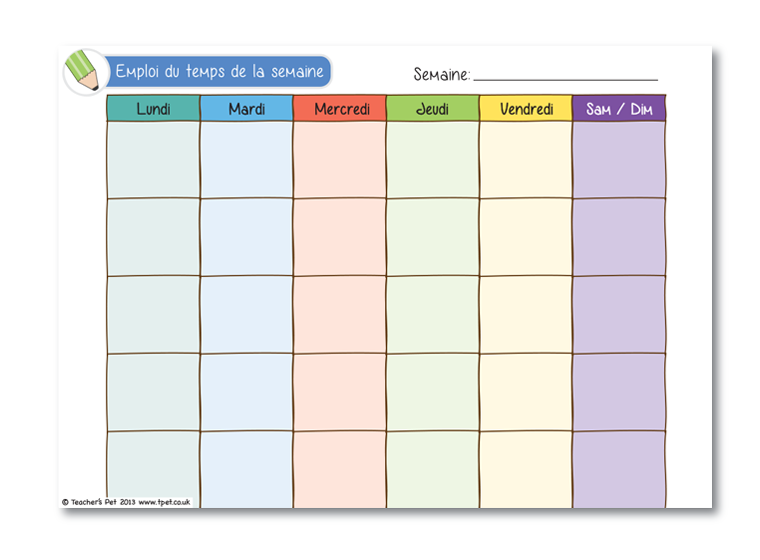 Calendrier Semaines   New Calendar Template Site