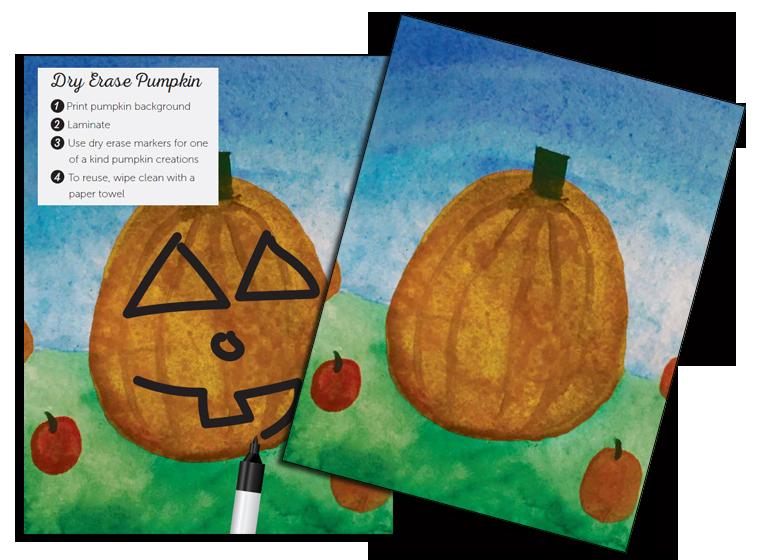 Fellowes inspiratieweb feestdagen en meer halloween pompoengezichten - Versier het huis ...