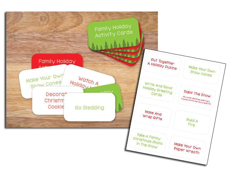 Christmas Activity Cards