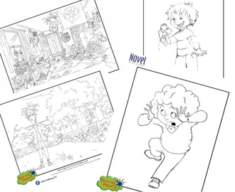 Horrid Henry Colouring Sheets