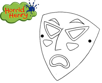 Horrid Henry Mask