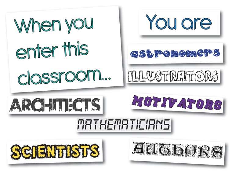 'When You Enter This Classroom' - Signs