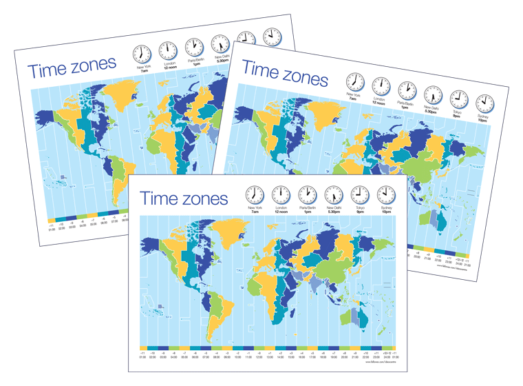 Time Zones Chart